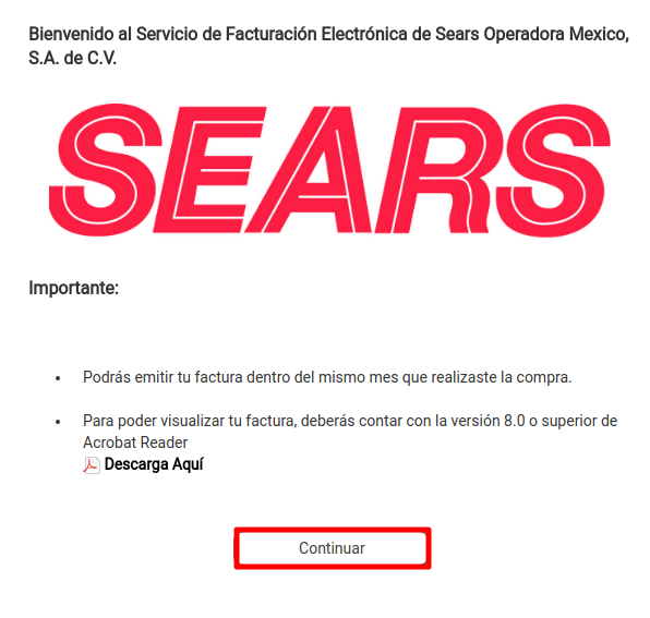 C:\Users\cuantrun\Desktop\Articulos escritos\Sears facturación paso 2.png